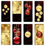 Рождественские открытки Стоковая Фотография RF