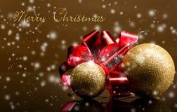 Рождественские открытки Стоковое фото RF