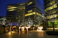 Рождественские ярмарки в Лондоне Стоковая Фотография