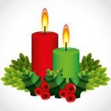 Рождество векторной графики иллюстрации Стоковая Фотография