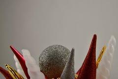 рождество веселое Красочные украшения Стоковые Изображения RF