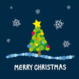 рождество веселое Стоковые Изображения RF