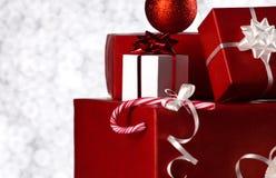 Рождество все еще на предпосылке bokeh Стоковое фото RF