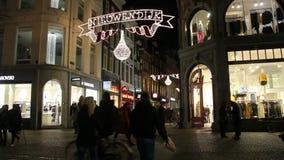 Рождество в Амстердаме видеоматериал