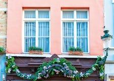 Рождество в Брюгге Стоковое Изображение