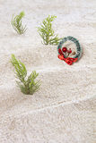 Рождество в пляже Стоковое Изображение