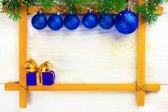 Рождество в рамке стоковая фотография rf