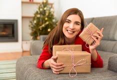 Рождество влюбленности стоковые фото