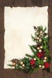 рождество граници декоративное Стоковое фото RF