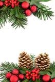 рождество граници декоративное Стоковая Фотография RF