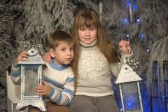 Рождество детей стоковое фото