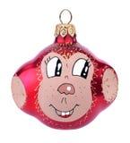 Рождество забавляется обезьяна Стоковые Изображения RF