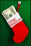 Рождество запасая вполне доллара рождество веселое Стоковая Фотография RF