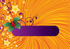 рождество знамени Стоковая Фотография RF