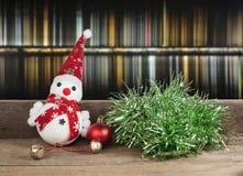 Рождество, игрушка снеговика Стоковая Фотография RF