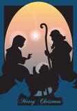 Рождество Иисуса Стоковая Фотография RF