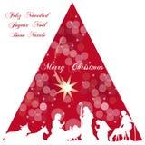Рождество Иисуса Стоковые Изображения RF