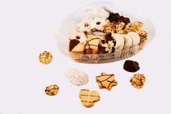 Рождество или печенье чая Стоковая Фотография