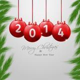 Рождество и новая предпосылка Year�s Eve Стоковые Изображения