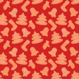 Рождество и счастливая концепция символа украшения Нового Года бесплатная иллюстрация