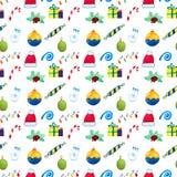 Рождество и украшение и настроение Нового Года Стоковое Изображение