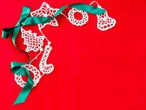 Рождество карточки желаний, текстура Стоковое Изображение RF