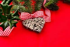 Рождество карточки желаний, текстура Стоковое Фото