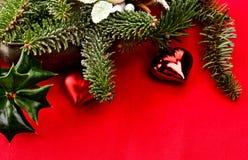 Рождество карточки желаний, текстура Стоковая Фотография