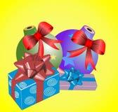 1 рождество карточки Стоковое Изображение