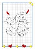 рождество колоколов завершенное к Стоковые Фотографии RF
