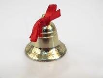 рождество колокола золотистое Стоковое Изображение