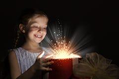 рождество кто-нибудь striped чулки удивляет tiptoe к xmas вала Стоковое Изображение