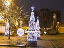 Рождество Москва Стоковое Изображение