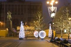 Рождество Москва Стоковые Изображения