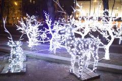 Рождество Москва Стоковое Изображение RF