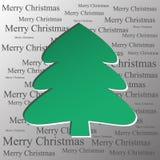 рождество моя версия вектора вала портфолио Стоковое Фото