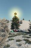 рождество моя версия вектора вала портфолио иллюстрация штока