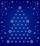 рождество моя версия вектора вала портфолио Стоковое Изображение
