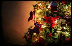 рождество моя версия вектора вала портфолио Стоковая Фотография RF
