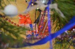 рождество моя версия вектора вала портфолио Стоковые Фото