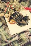 Рождество мраморного торта Стоковое Изображение