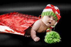 рождество младенца newborn Стоковая Фотография RF