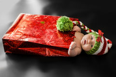 рождество младенца newborn Стоковые Фото