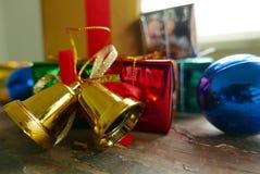 рождество настоящих моментов украшает Стоковое Фото