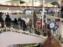 Рождество на торговом центре Стоковая Фотография