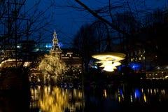 Рождество на Tivoli в Копенгагене Стоковое Фото