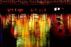 Рождество на Tivoli в Копенгагене Стоковые Фотографии RF