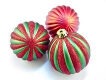 рождество орнаментирует белизну Стоковые Изображения