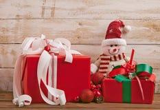рождество орнаментирует настоящие моменты Стоковые Изображения