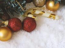 Рождество орнаментирует украшение стоковое изображение